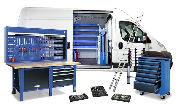 Trasforma il tuo furgone in un officina mobile blog motori for Progetta il tuo laboratorio di officina